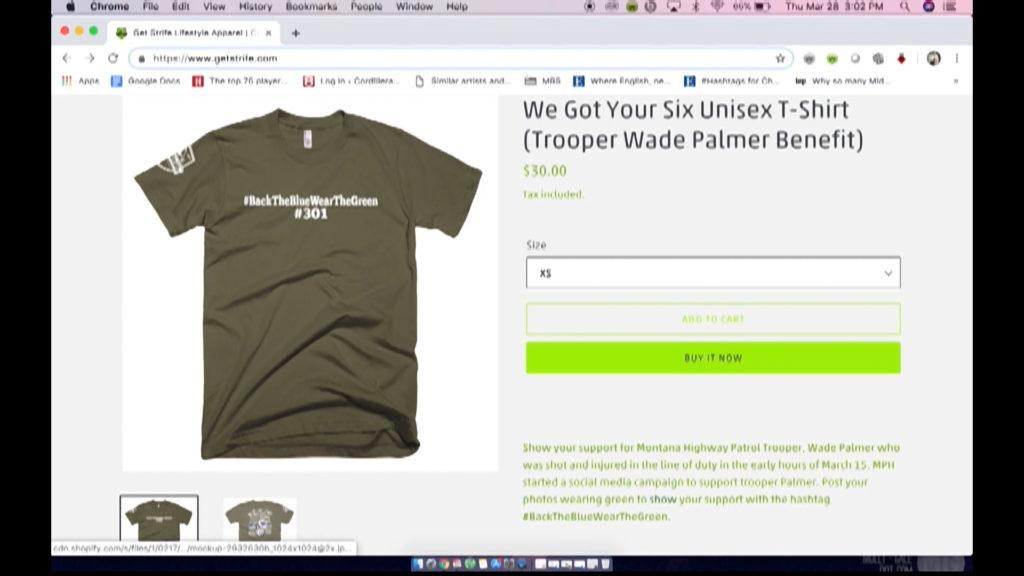 Trooper Palmer t-shirt