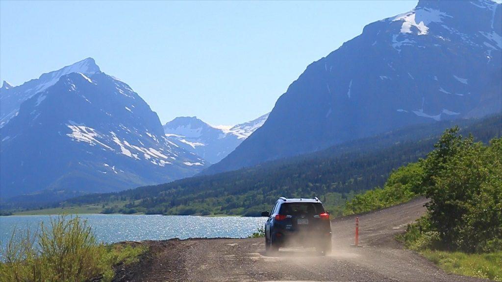 Many Glacier Road