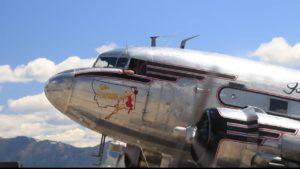 Miss Montana WWII Plane
