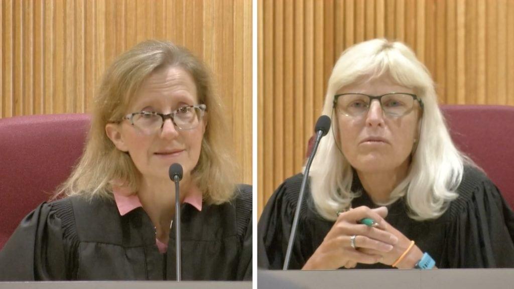 Montana Supreme Court justices Baker, Gustafson seeking
