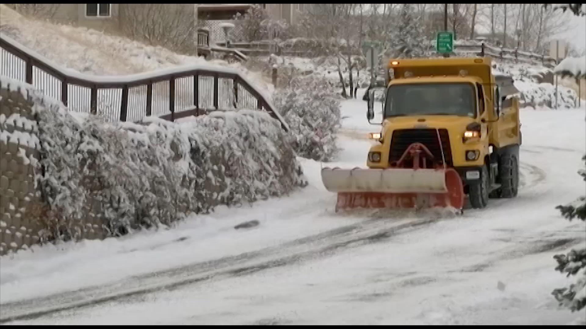 Helena Snow Plowing