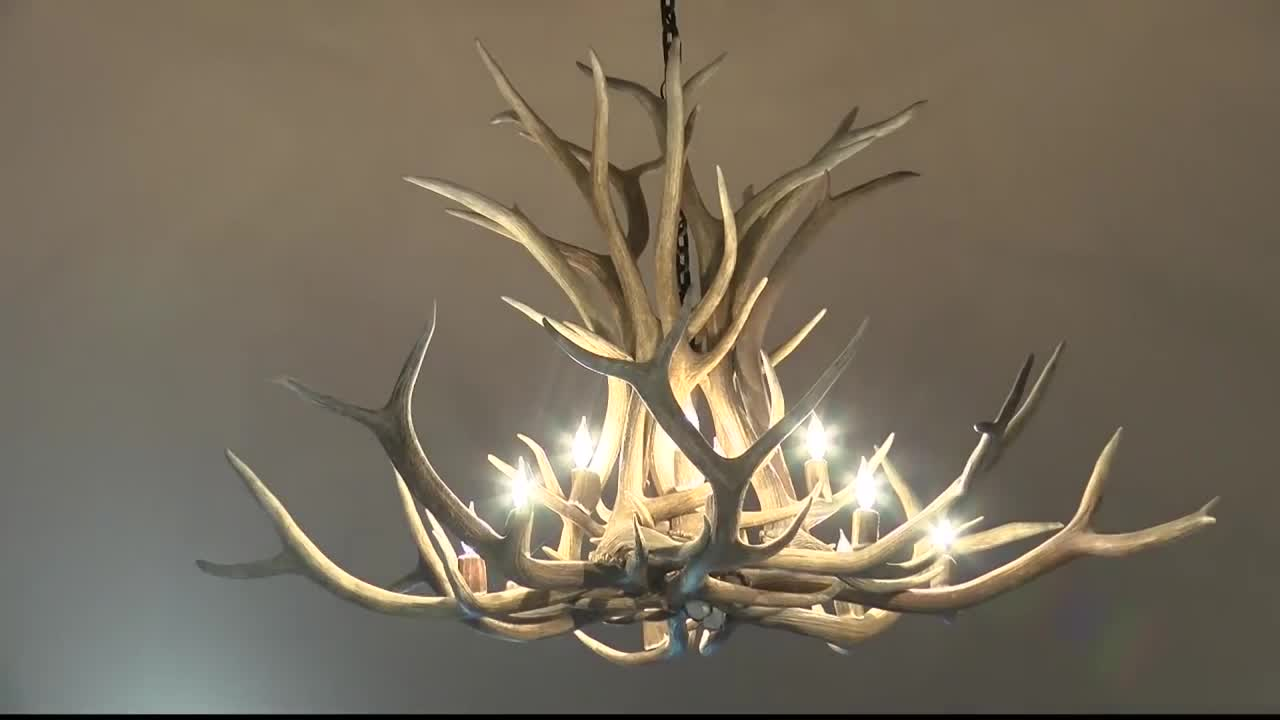 Montana Made Antler Chandeliers Lighting Company