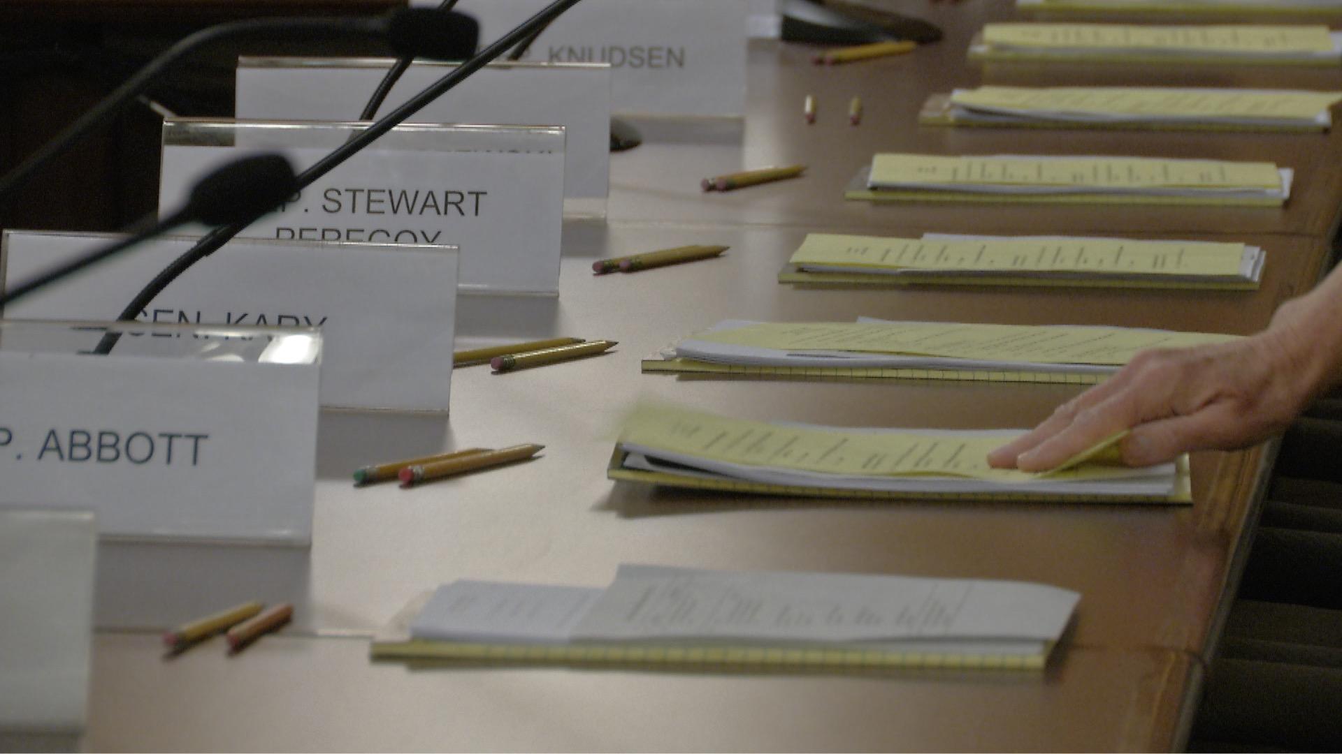 Legislature Preparations