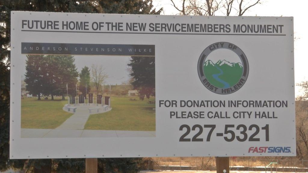 East Helena Veterans' Monument Plans
