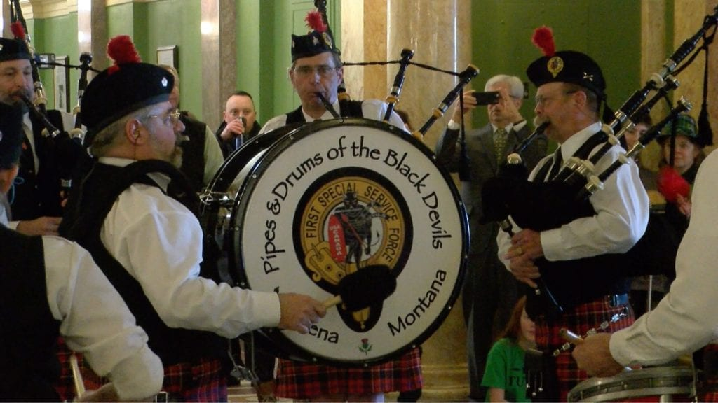 Pipes and Drums of the Black Devils