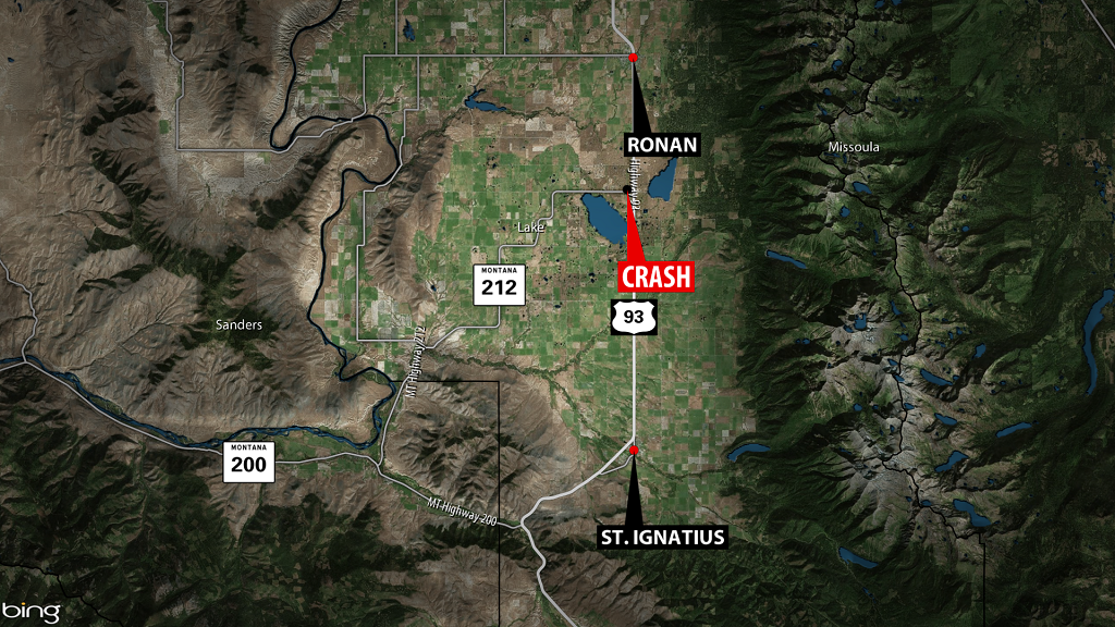 UPDATE: Highway 93 reopened following crash that killed three people